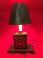 Vintage  Barringer & Brown's Mustard Tin Table Lamp.