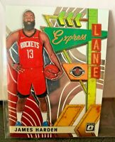 2019-20 Optic Express Lane Insert James Harden #1 Houston Rockets