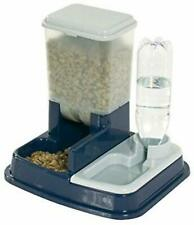 Pet Cat Dog Dry Food Water Dispenser 2 In 1 Automatic Feeder Station Feeder New