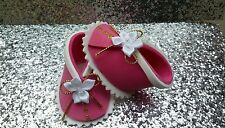 ~SHOES CAKE TOPPER~ for Baby Shower, Christening, Pink, Bootie Favor Boxes,Party