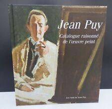 Livre : Catalogue raisonné de Jean PUY