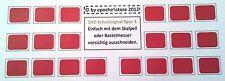 SH2-Scheiben Tafeln Schutzsignal Spur 1,20 Stück, sehr detailgetreu