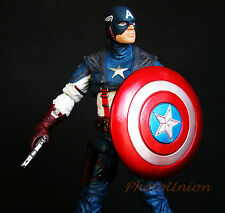"CAPTAIN AMERICA MARVEL DIAMOND SELECT AVENGERS 7"" Action Figure A265"