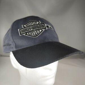 Harley Davidson F150 Hat Limited Edition 1724 of 8000 Suede 2005 Strapback Cap