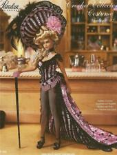 1899 Wild West Showgirl Costume Crochet Pattern Paradise Vol 87, P-098 Barbie