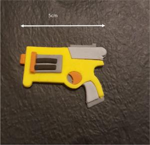 Fondant / Cookie Cutter Gun Birthday Party - Made In Australia