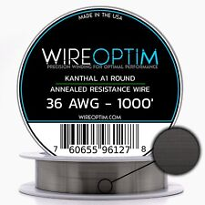 10m 11.2 Ω//m 3.41 Ω//ft Kanthal A 0.40mm 26 Gauge AWG Genuine Resistance Wire