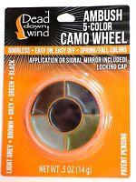 Dead Down Wind Ambush 5-Color Camo Paint Wheel in Carry Case #1201
