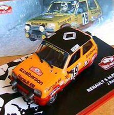 Renault 5 Alpine Turbo J. Ragnotti Rallye Monté Carlo 1978 Altaya 1/43
