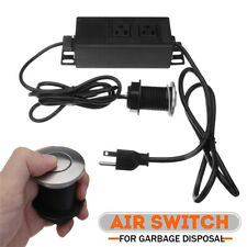 Garbage Disposal Air Switch Part Assembly Push Button Sink Pressure Switch 110V