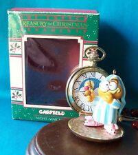 Enesco Ornament  Rare!  Garfield Night WatchCat In Box  Hard to Find