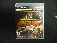 Replacement Case (NO GAME) NEED FOR SPEED THE RUN LIMITED EDT  PLAYSTATION 3 PS3