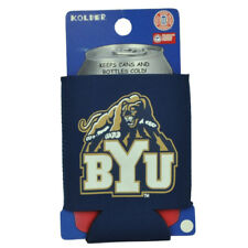 Ncaa Brigham Young Cougars Coozies Bottle Drink Coolers Beer Hugger Coolies Navy