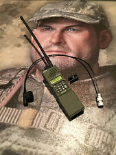 Caltek International Military A-TACS Radio & Mic loose 1/6th scale