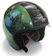 Moto Guzzi Green Stripe Motorcycle Helmet