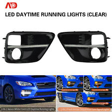 Sequential LED DRL Daytime Running Light Turn Signal For 15-17 Subaru WRX STI