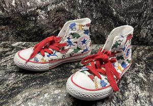 Converse All-Star DINOVERSE Chuck Taylor High Tops Sneaker Shoes Dinosaur Sz 12
