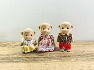 Sylvanian Families Darwin Monkey Family Geoff Shirley Katie