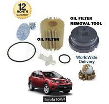 für Toyota RAV4 2.0DT D4D 1AD-FTV 2012- > ÖLFILTER + Ölfilter wechsel Werkzeug