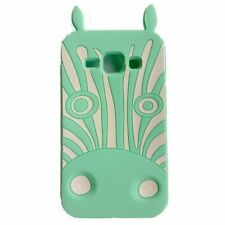 Apple iPhone 4 4s 4g BACK CASE 3D Muster Hülle Handy Case Tasche Zebra Mint