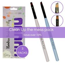 Nail Art Brush Set Ultimate Clean Up the mess  Pack