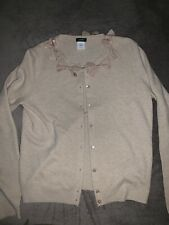 J. Crew Wool/Cashmere Blend Button Down Cardigan/Sweater Size S #10175 EUC