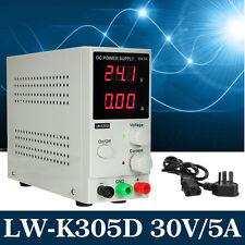 Precisión Fuente Alimentación Switch DC Variable Ajustable 0~30V 0~5A Lab DD