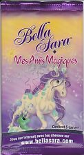 BOOSTER BELLA SARA - EDITION MES AMIS MAGIQUES - NEUF - 5 CARTES -