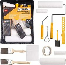 Deluxe Paint Roller Kit - 14 Pieces Home Painting Supplies Tools, Foam Brush, Ho