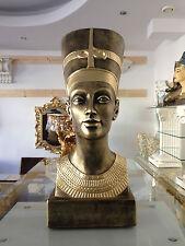 Wunderschöne Ägyptische Büste Nofretete Figuren ägypten Kunst Figur 2846 k 110 X