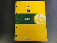 John Deere 4425 Combine Technical Manual  TM-4417