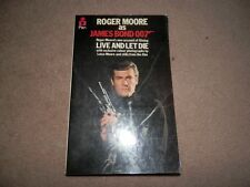 Roger Moore 007 Live and Let Die Luisa Moore Pan 1st edition 1973