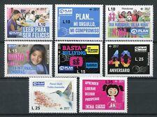 Honduras 2017 MNH Plan International Children's Rights & Equality 8v Set Stamps