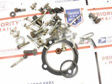 1980 YAMAHA 250 Enticer snowmobile parts: BOLTS-NUTS-ETC from motor tear down