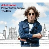 "JOHN LENNON ""POWER TO THE PEOPLE - THE HITS"" CD+DVD NEW+"