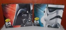Crayola Crayons - Star Wars Darth Vader Storm Trooper (Limited Edition) 64 pack
