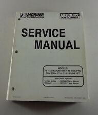 Manuale Officina/Officina Manuale Marina Außenborder-marathon, Mare pro, Jet