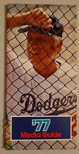 1977 Los Angeles Dodgers Media Guide