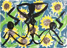 Stefan Szczesny - gigantischer Farbsiebdruck auf Bütten. nummeriert handsigniert