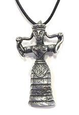 Minoan Snake Goddess Unisex Necklace Greek Fertility ETM-502