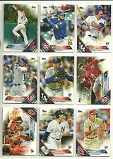 2016 Topps Lot 1700 Cards Kris Bryant Trout Seager Piscotty Harper Bird Diaz...