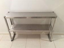Brand New Stainless Steel Kitchen Work Bench Overshelf 900x300x780 mm