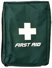 Lewis Plast Empty First Aid Carry Kit Pouch Zipped 4 Pockets, Handle & Belt Loop
