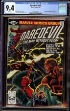 Daredevil # 168 CGC 9.4 White (Marvel, 1981) 1st appearance of Elektra