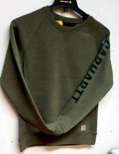 Carhartt 104410-G73 Women's Crewneck Sweatshirt