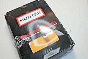 Hunter Women's socks Yellow Mustard Short size M/L Open box