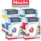 Miele Vacuum Bags FJM, GN, U & KK - Genuine Miele Brand - HEPA Filtration