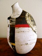 RARE Signed SHERYL ZACHARIA Art Pottery Contemporary Abstract Sculpture Vessel