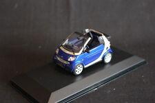 Minichamps Smart Cabriolet 2000 1:43 Silver / Blue (JS)