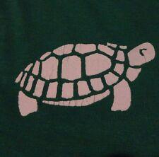 Vintage 1980's Pet Shop Turtles Green Advertising Akron Ohio T Shirt size Large